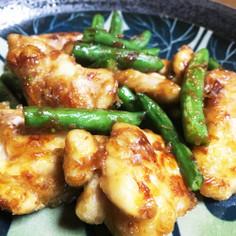 材料5つ♪麺つゆで簡単!鶏肉のおかか炒め