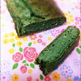 赤ちゃんのおやつ♡ほうれん草バナナケーキ