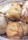 豚肉と里芋の煮物(ガンモ入り)