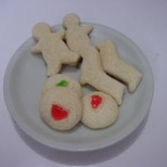 バターを使わないクッキー