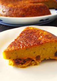 炊飯器で簡単☆かぼちゃの寒天ケーキ