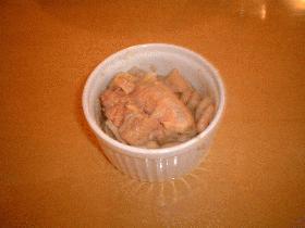 いんげん豆と豚肉のシチュー