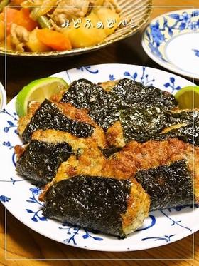 酒飲み喜ぶ✿納豆とつくね芋の磯辺揚げ
