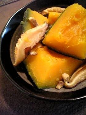 干し椎茸と南瓜の柚子胡椒煮