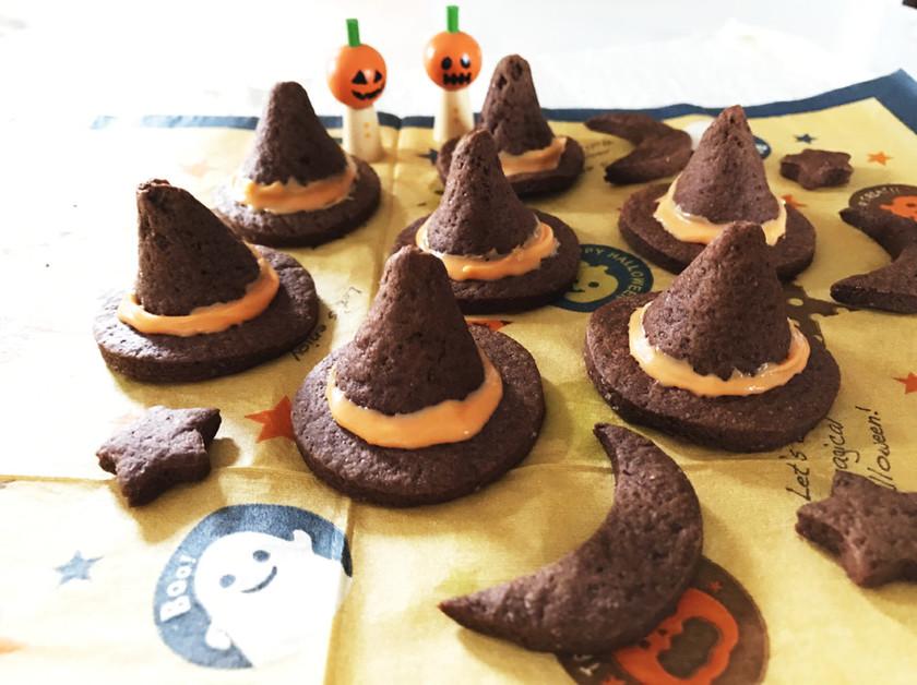 ハロウィン♪音鳴る♪魔女の帽子クッキー★