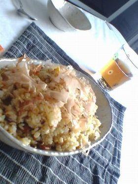 男飯☆サンマ炒飯