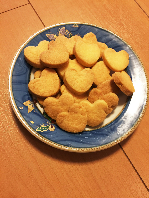 簡単マーガリンさくホロクッキー