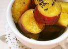 レンジで簡単☆さつま芋の煮っころがし。
