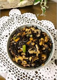定番常備菜✿ひじきと大豆の五目煮