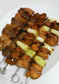 焼き鳥のタレ*豚バラの串焼き、炒め物に!