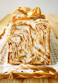 メイプルマーブル食パン(折り込みシート)
