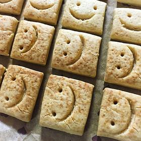 2つの材料で作る簡単クッキー♪