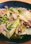 ダシダでがっつり☆豚肉と白菜の中華風