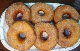 ホシノ天然酵母でドーナツ!