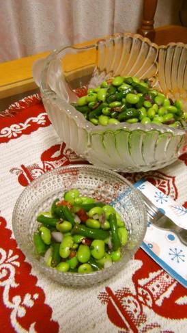 枝豆といんげんのグリーンマリネ