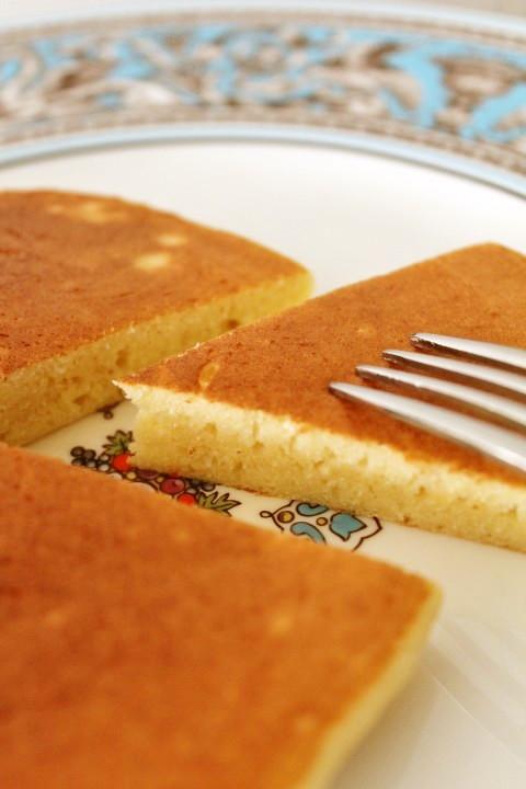ノン小麦粉♪米粉おからPのホットケーキ