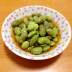 黒枝豆のひたし豆