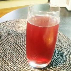 赤紫蘇ジュース 焼酎割にも♪