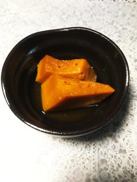 カボチャの煮物〜砂糖なし