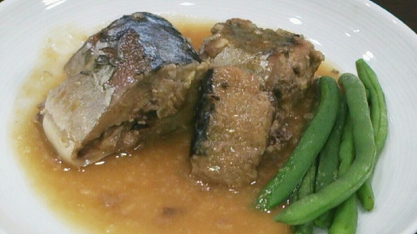 簡単すぎ☆鯖の水煮缶で☆鯖の味噌煮