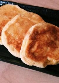 クリームチーズ入りスフレパンケーキ