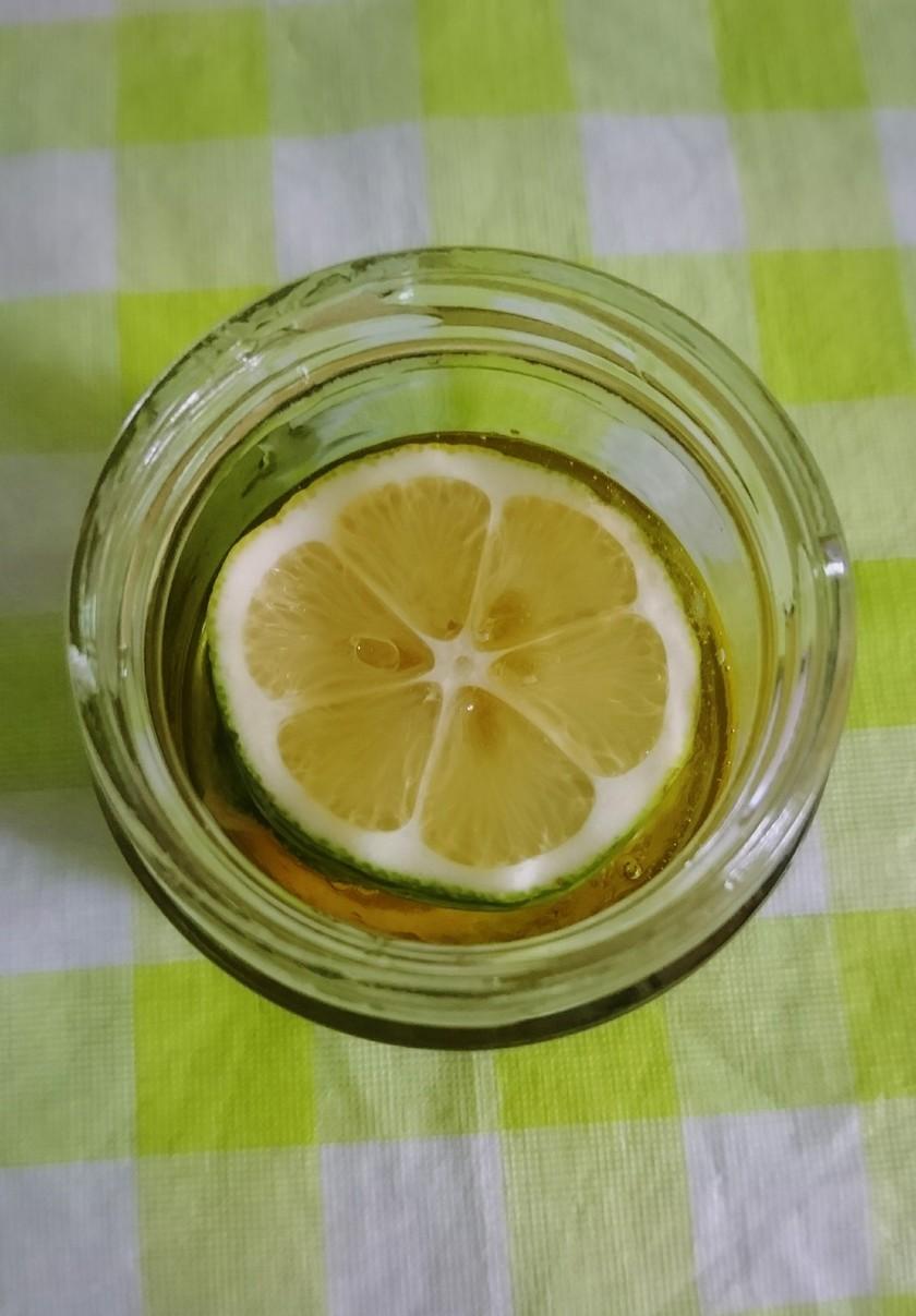 手作り!簡単*レモンの蜂蜜漬け♪