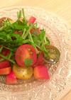 ミニトマトとパクチーのタイ風サラダ