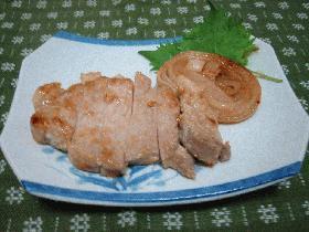 酒粕漬けの豚ロース焼き