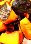 レンジで簡単♪かぼちゃの煮付け