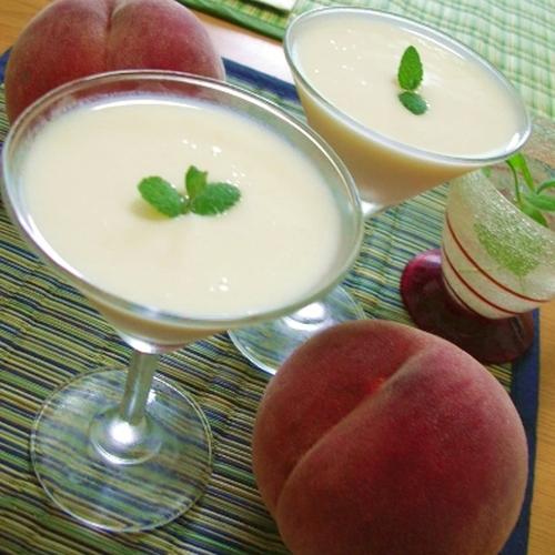 果物の人気者【モモ】のレシピ。ちょっとアレンジすると楽しみ倍増♪