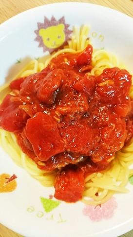 簡単!いつものなんでも活用トマトソース☆