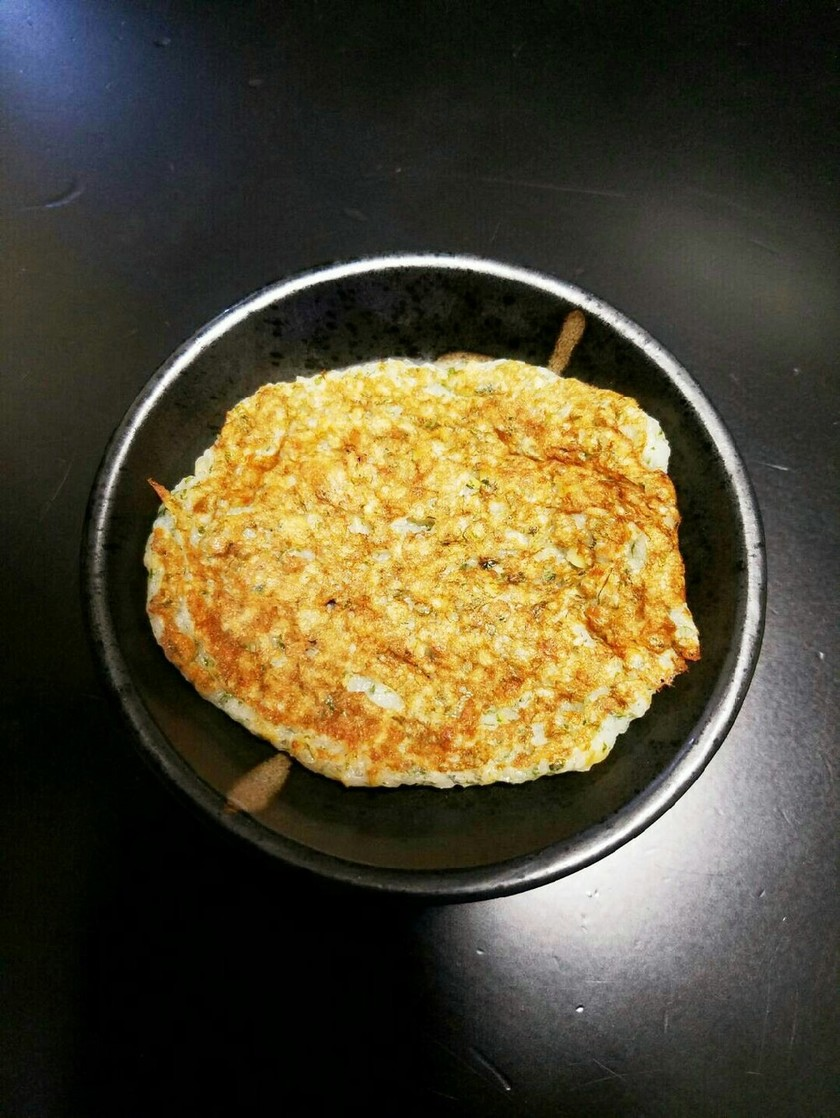 離乳食に!混ぜて焼くだけ!納豆山芋お焼き