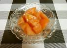 亜麻仁油でトマトサラダ