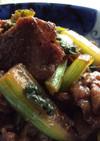 牛肉とセロリの甜麺醤炒め5〜10分おかず