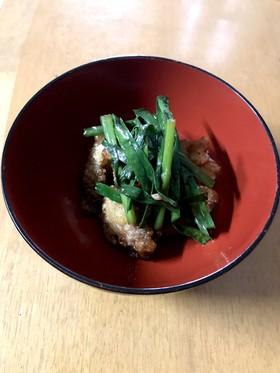給食レシピ  トリニータ丼♥
