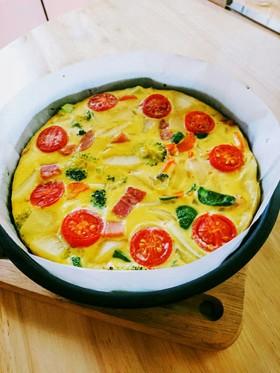 オーブンで簡単!スパニッシュオムレツ♪