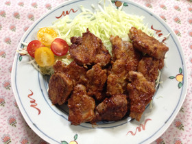 簡単!豚ヒレ肉のケチャップ焼き