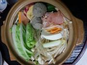 鶏鍋(血管プラークダイエット食972)の写真