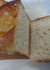バナナ酵母で全粒粉パウンドパン