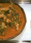 魚とヨモギの天ぷら