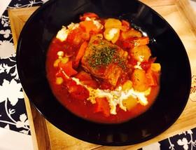 ❄︎牛バラ肉ブロック❤️絶品トマト煮❄︎