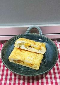 卵焼き★フライドオニオンとチーズ入り