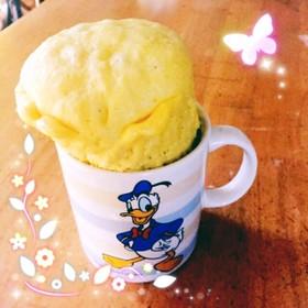 【モコモコ風】かんたんカップケーキ