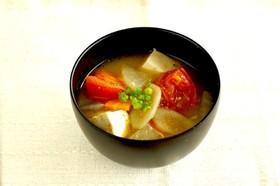 【減塩】8種の具沢山トマト豚汁