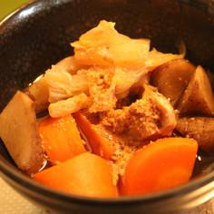 出汁の旨味野菜の甘みと香り広がるいりこ汁
