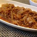超時短&ヘルシー 豚の生姜焼き