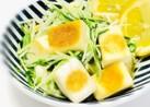 はんぺんと水菜のバター醤油ソテー