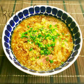 具沢山で大満足♡ダシダカレー春雨スープ