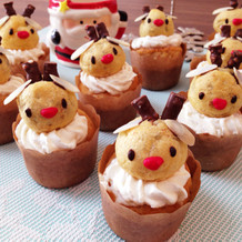 クリスマス★*トナカイカップケーキ*★