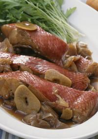 春の旬❀金目鯛!はちみつバルサミコ煮
